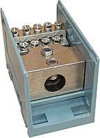 Кабельный разветвитель МОНТАЖНЫЙ 95/12 (для кабеля до 95 мм²) 12 отв.×10 мм²