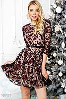 Нарядное платье с блестками