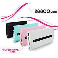 Портативный аккумулятор Xiaomi Power Bank 28800 mAh, 3 USB