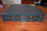 Cisco Catalyst WS-C3560E-48TD-S , б/у управляемый гигабитный коммутатор L3 с 10G