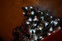 """Новогодняя гирлянда на елку """"Пушистые Орхидеи"""""""