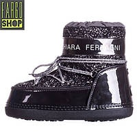 Женские Snow Boots Chiara Ferragni Black