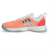Кроссовки женские Adidas Barricade classic bounce orange/grey (S78395)