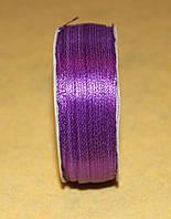 Лента атласная 3 мм сиреневая 16612, фото 1