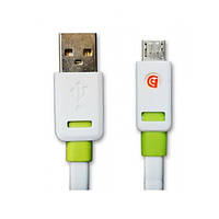 USB кабель 1 метр с разъемом MicroUSB
