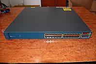 Cisco Catalyst WS-C3560E-24PD-S , б/у управляемый гигабитный коммутатор L3 с PoE и 10G