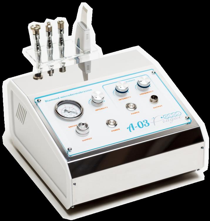 Апарат алмазної мікродермабразії + уз-скрабер A-03 (2 в 1)