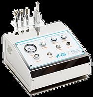 Апарат алмазної мікродермабразії + уз-скрабер A-03 (2 в 1), фото 1