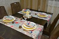 Раннер (дорожка) для стола Новогодний Адамс 145*45 см