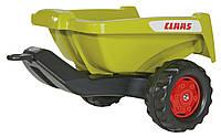 Прицеп Rolly Toys  для педального трактора rollyKipper ll Claas оливковый