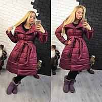 Куртка женская с расклешенной юбкой на силиконе разные цвета Gp42