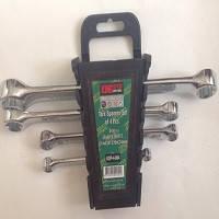 Набор ключей комбинированных накидок-накидок KING STD  KSP-4-004 TORX (4шт,  E6-24мм)
