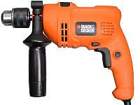 Дрель ударная BLACK&DECKER KR504RE-XK , 500Вт. 13мм, 0-2800об/мин.
