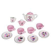 Кукольный чайный сервиз игрушечный Minnie Mouse Smoby 24713