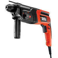 Перфоратор BLACK&DECKER KD860KA-XK, SDS-Plus, 600Вт, 1.6Дж, 960об/мин.