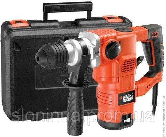 Перфоратор BLACK&DECKER KD1250K-QS SDS-Plus, 1250Вт