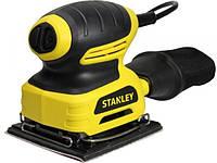 Шлифовальная машина вибрационная STANLEY STSS025 , 220Вт, 0 - 16000ход/мин.