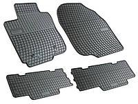 Резиновые коврики для Toyota RAV4 III 2005-2012 (FROGUM)