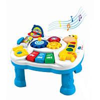 Столик игровой музыкальный развивающий центр Жирафик