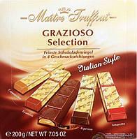 Шоколад Grazioso в стиках Maitre Truffout 200g Ассорти