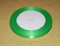 Лента атласная  875-2 светло-зелёная  6 мм, фото 1