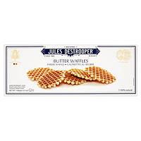 Бельгийское сливочное печенье в форме вафель Jules Destrooper, 100г