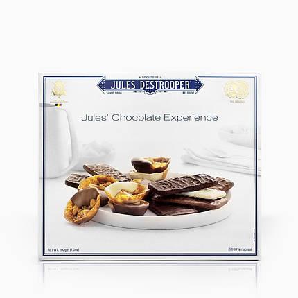 Бельгийское шоколадное печенье микс Jules Destrooper, 200г, фото 2