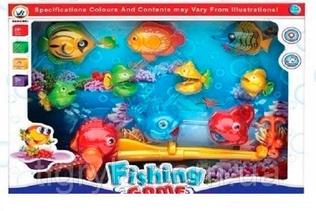 Рыбалка музыкальная удочка - игрушка развивающая , фото 2