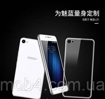 Ультратонкий 0,3 мм чохол для Meizu U10 (мейзу) прозорий