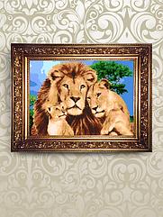 Набор для бисероплетения «Львы в саванне»