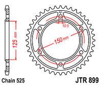 Задняя звезда JT JTR899.45
