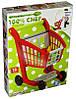 Тележка для супермаркета с набором продуктов,Ecoiffier 1225
