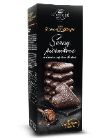 Печенье в черном шоколаде Kopernik, 128г