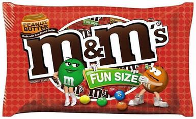 Драже с арахисовым маслом M&M's, 289,2г