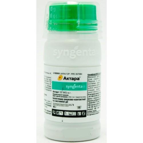 Инсектицид Актара (40 г) — системный инсектицид контактно-кишечного действия, борьба с вредителями