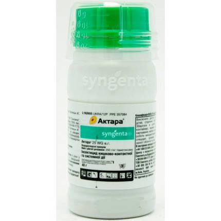 Инсектицид Актара (40 г) — системный инсектицид контактно-кишечного действия, борьба с вредителями, фото 2