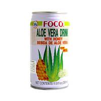 Напиток алоэ вера с медом Foco, 350мл