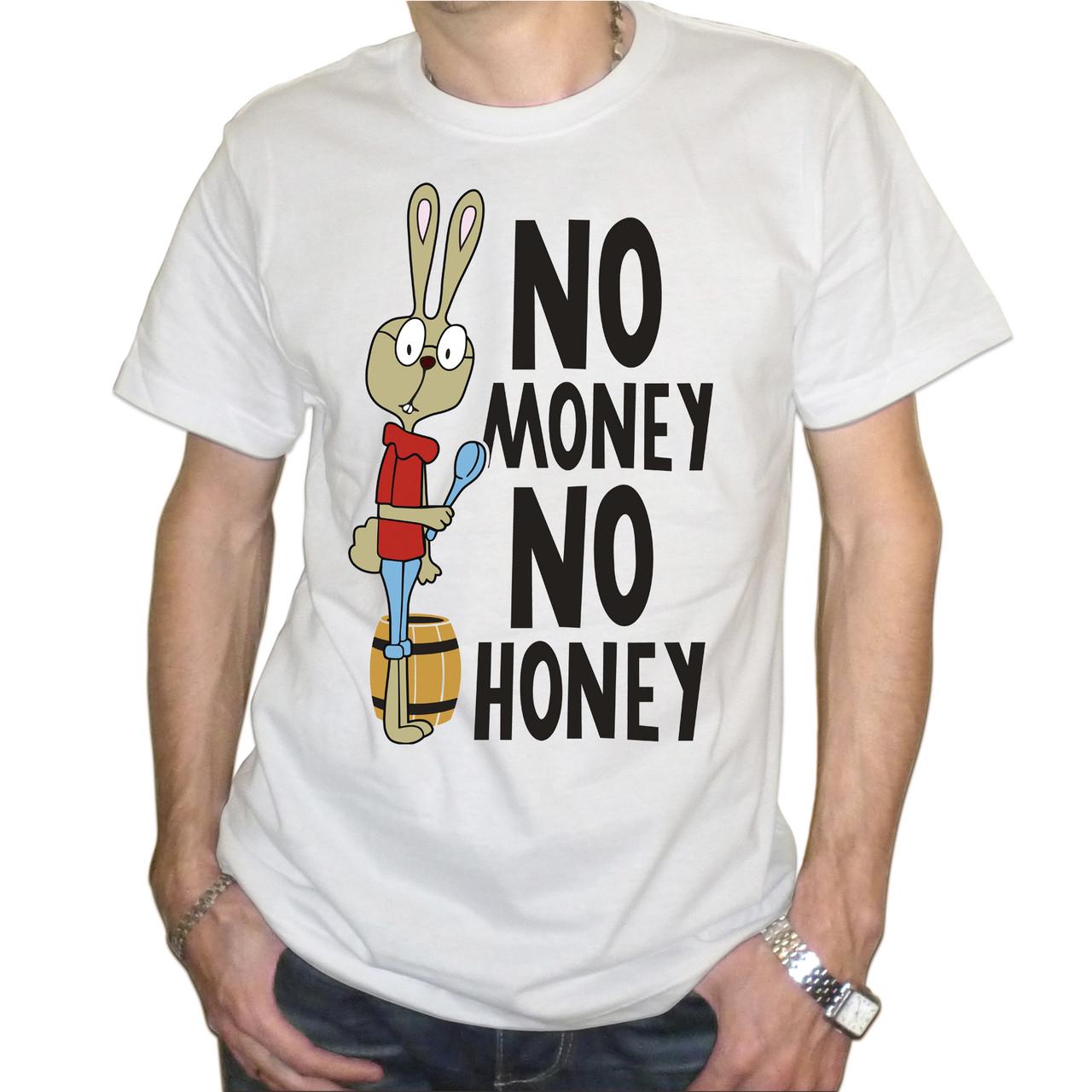 "Мужская футболка ""No money no honey"""