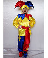 Детский костюм Петрушка, клоун, шут, арлекин
