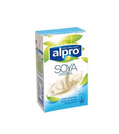 Соевое молоко классическое Alpro, 250мл, фото 2