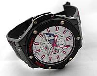 Мужские часы HUBLOT - Formula 1 - с автозаводом, каучуковый черный ремешок