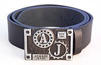Ремень мужской кожаный Armani, фото 1
