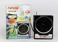 Цифровой радиоприемник FM NS 048: 88-108 MHz, SD/USB, ремешок, скоба на пояс, 6/220В, 12х9,5х5 см