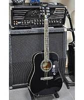 Акустическая гитара EPIPHONE DR-100 EBONY CH HDWE Новая!