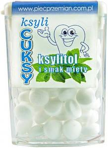Конфеты с ксилитолом мятные Ksyli Cuksy, 13г