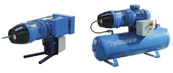 Hydrovane HV01 (HV1), HV01RM (HV1RM) роторно-пластинчатый компрессор 1 кВт; 0,12 м3/мин; 10бар