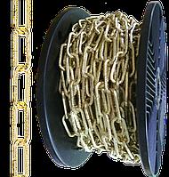 """Ланцюг """"Квадрат з візерунком"""" Ø 3,0 мм золотий"""