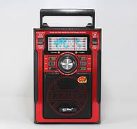 Радиоприемник аналоговый PX 113 AM/SW1/SW2/FM, USB/SD, 5 Вт, пульт ДУ, ручка для переноски