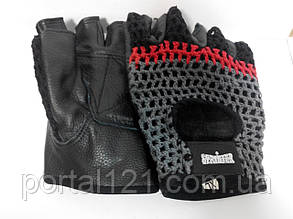 Атлетичні рукавички чоловічі сітка