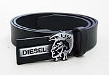 Ремень узкий кожаный Diesel, фото 3